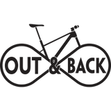 Out and Back Bike Shop Logo