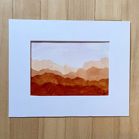 Desert Collection - Desert Evening in mat