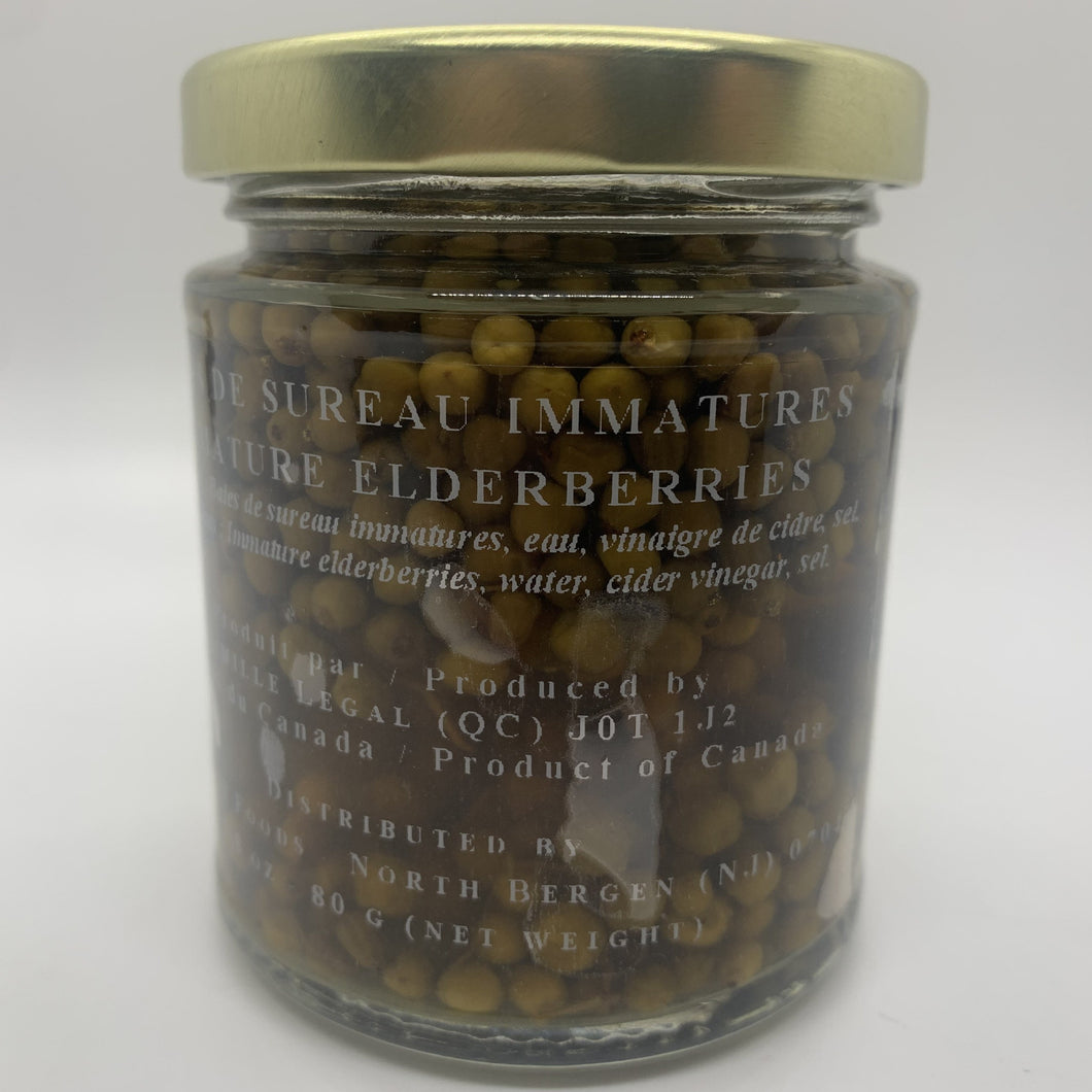 Immature Elderberries (80g)