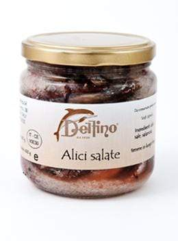 Delfino Anchovies in Salt