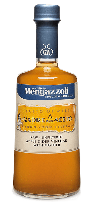 Mengazzoli Raw Unfiltered Apple Vinegar with the Mother (.5 L)