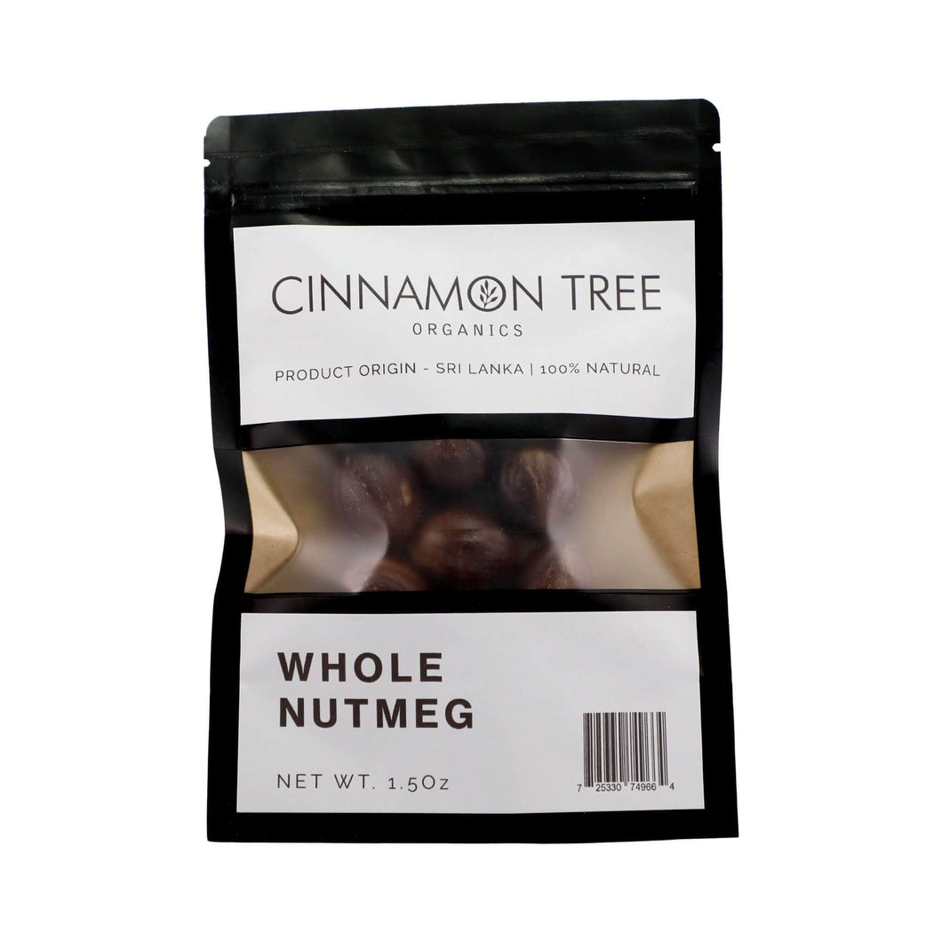 Cinnamon Tree Organics Whole Nutmeg
