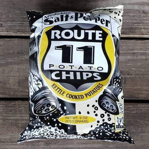 Appalachian Salt & Cracked Pepper Potato Chips (6 oz, Pack of 2)
