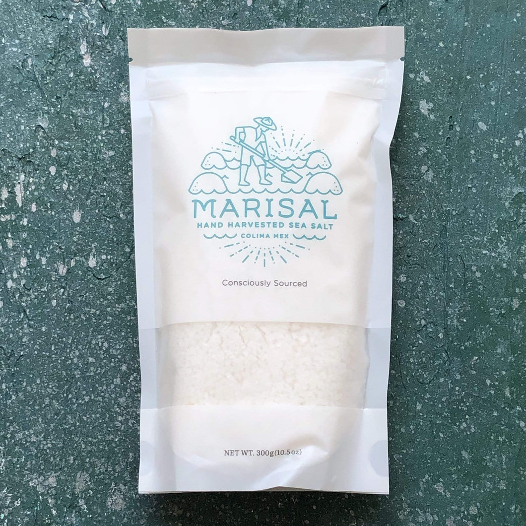 Marisal Sea Salt - Pacific Flake Sea Salt, 300g Bag