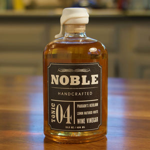 Noble Tonic 04: Pharaoh's Heirloom Lemon Matured White Wine Vinegar