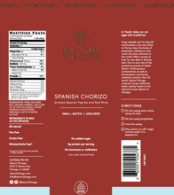 Load image into Gallery viewer, Spanish Chorizo
