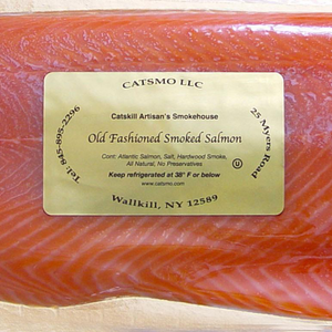 Catsmo Gold Label Smoked Salmon