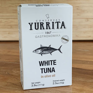 Yurrita White Tuna in Olive Oil (111g Tin)