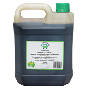 Worlds Best Hoof Oil 4lt