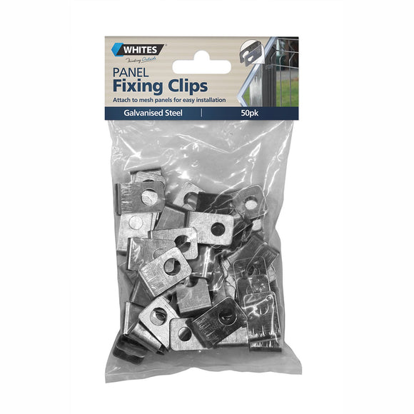 Panel Fixing Clips Pk50