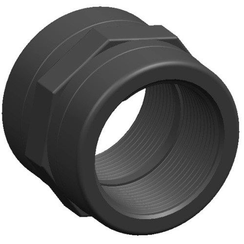 Poly Threaded Socket