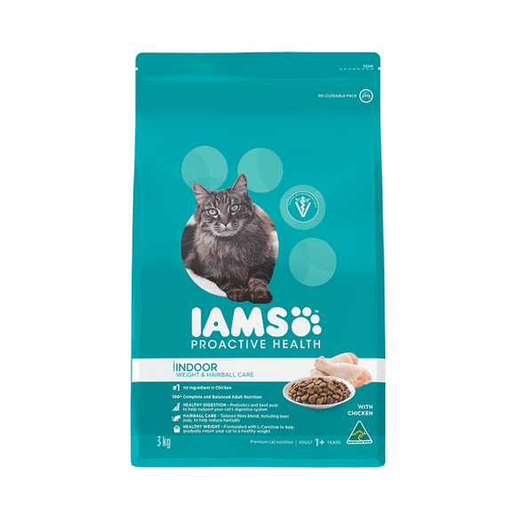 Iams Weight and Furball Cat 3kg