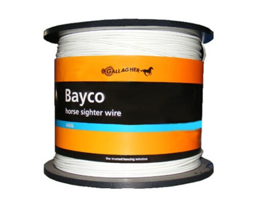 Bayco Fencing White 4mm x 625m