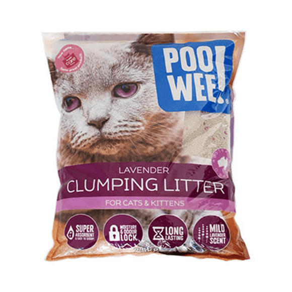 PooWee Clumping Cat Litter 15kg