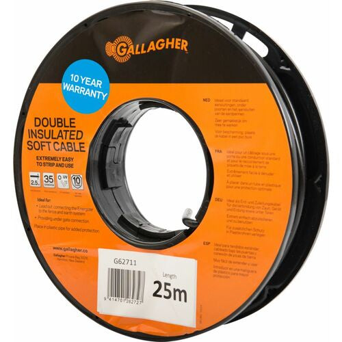 Cable Lead Out 2.5mm Soft 25m
