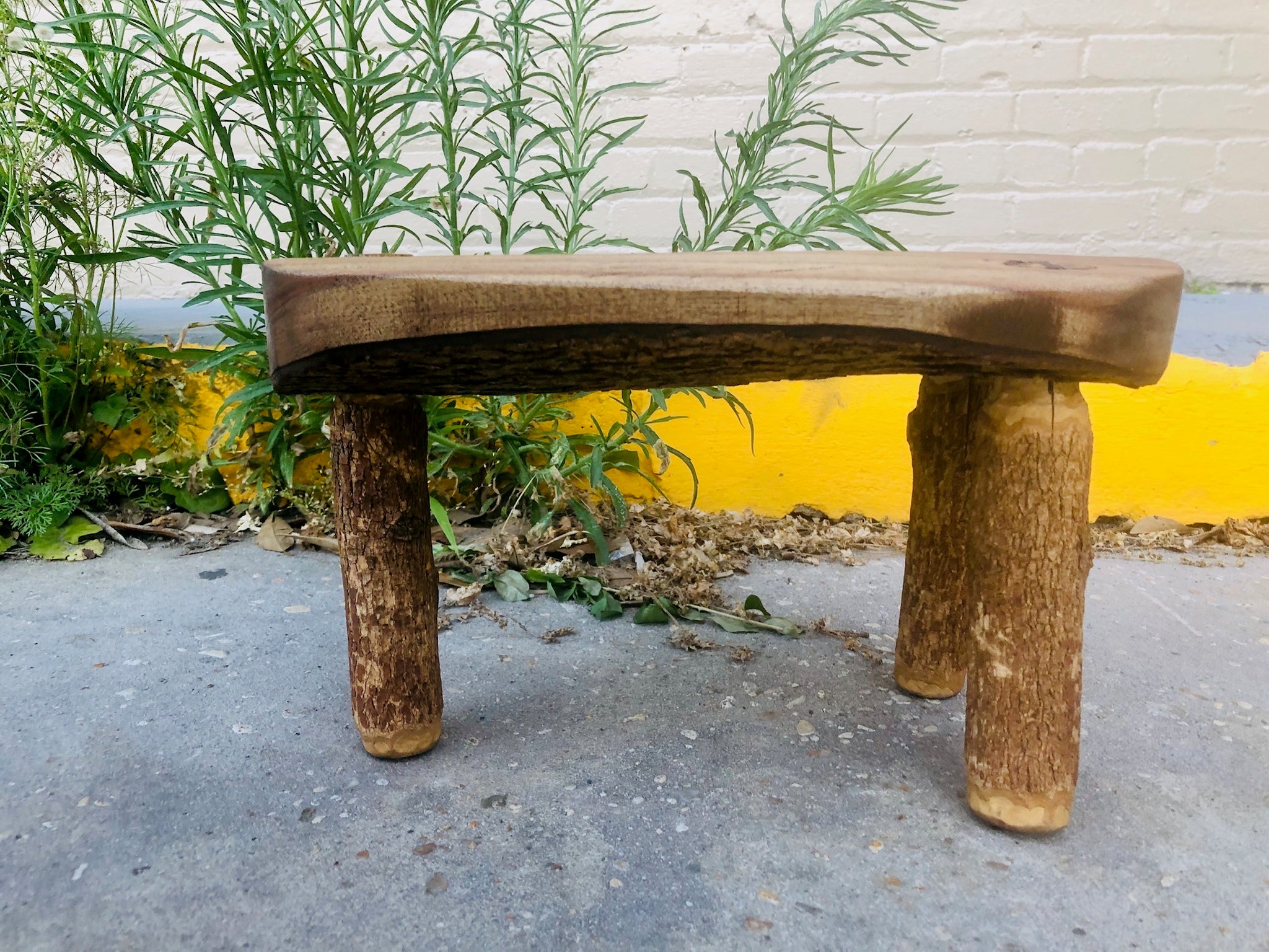 Bark On Danish Stool