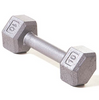 Champion Barbell 10lb Solid Hex Dumbbells - Givhony