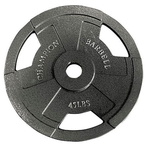 Champion Barbell Olympic Grip Plates 45 Ib - Givhony