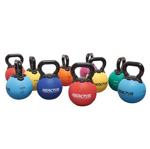 Champion Barbell 6 lb. - Light Blue Rubber Kettlebell - Givhony