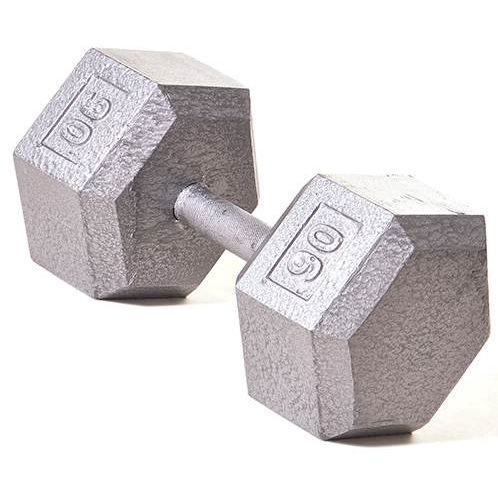 Champion Barbell 90lb Solid Hex Dumbbells - Givhony