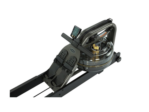 Image of First Degree Fitness Apollo Pro V Reserve Rower (Black Rails) - Givhony