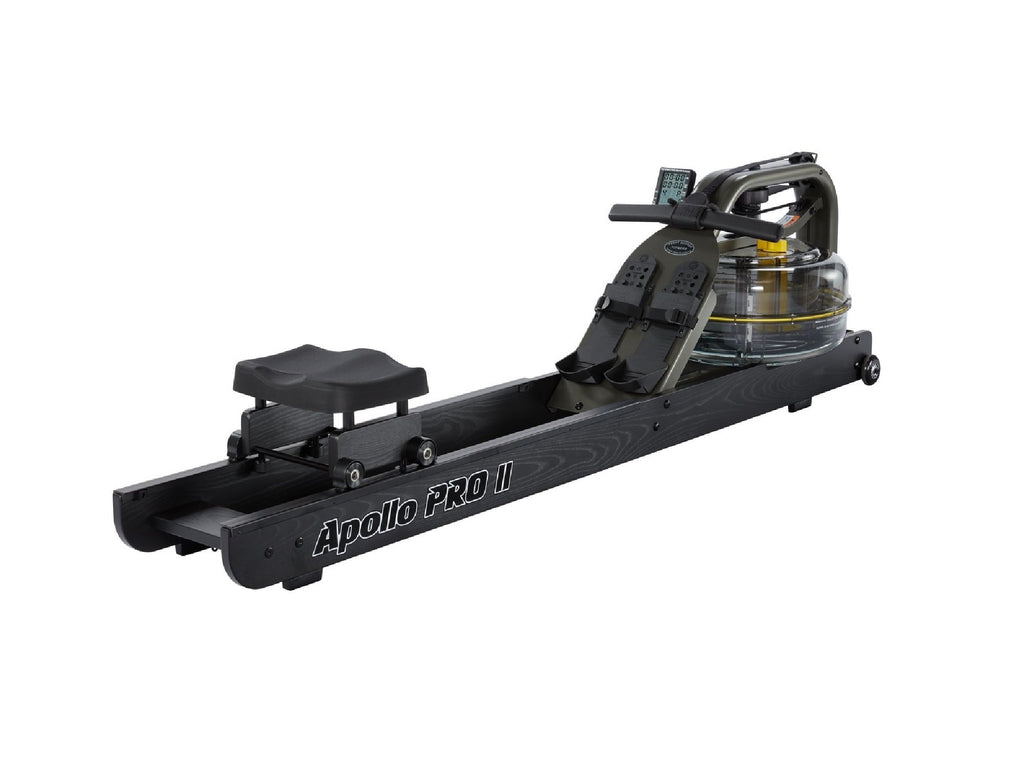 First Degree Fitness Apollo Pro V Reserve Rower (Black Rails) - Givhony
