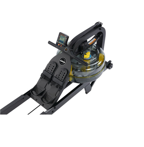 First Degree Fitness Neon Pro V Rower (Black Edition) - Givhony