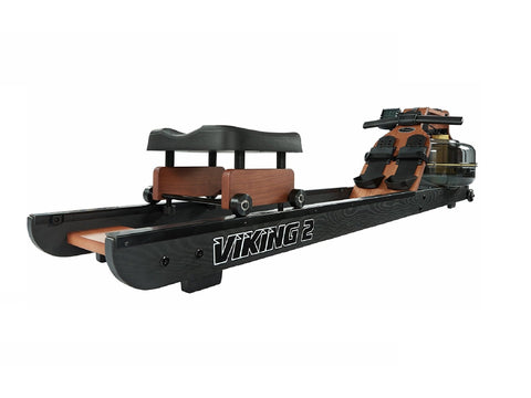 First Degree Fitness Viking 2 AR Plus Reserve Rower (Black Rails) - Givhony