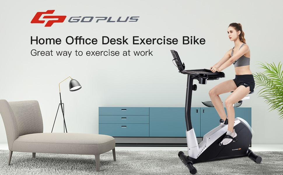 GoPlus Laptop Tray Excercise Bike - Givhony