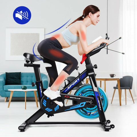 GoPlus LCD Display Exercise Bike - Givhony