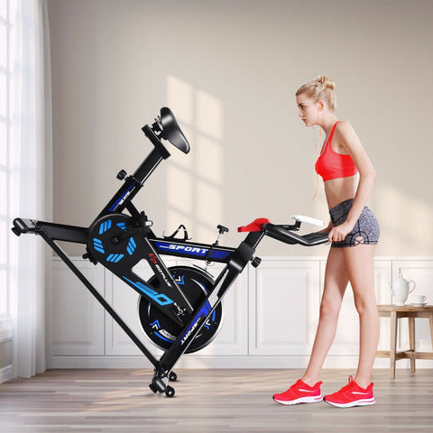 Image of GoPlus LCD Display Exercise Bike - Givhony