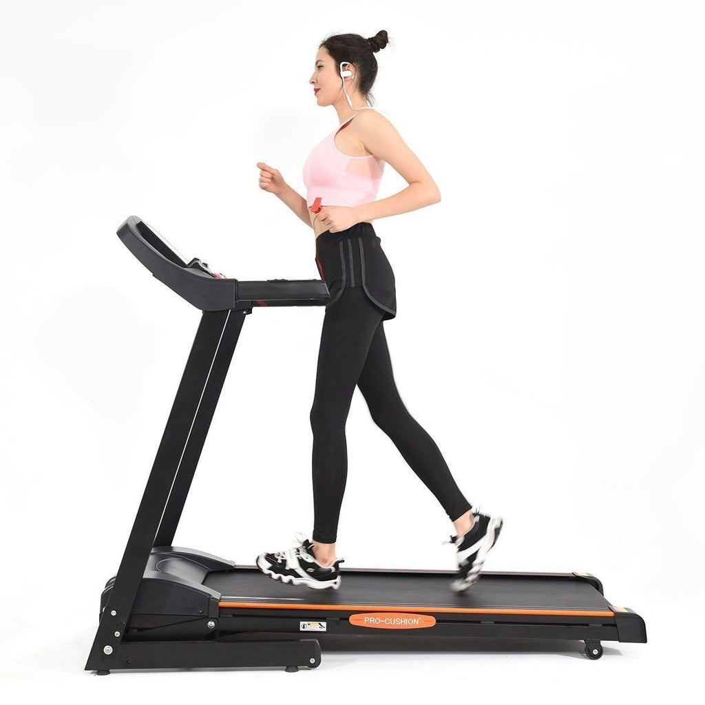 Go Plus 2.5 HP Electric Motorized Power Folding Treadmill - Givhony