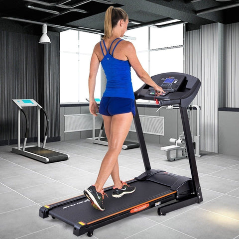 Image of Go Plus 2.5 HP Electric Motorized Power Folding Treadmill - Givhony