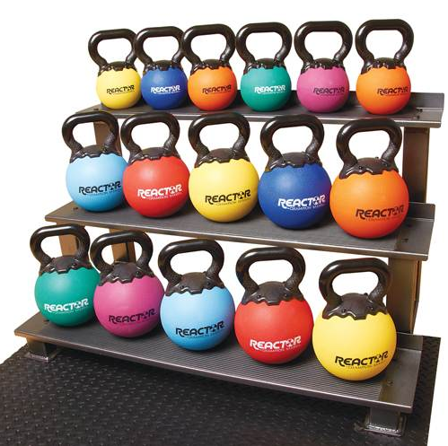 Champion Barbell 14 lb. - Orange Rubber Kettlebell - Givhony