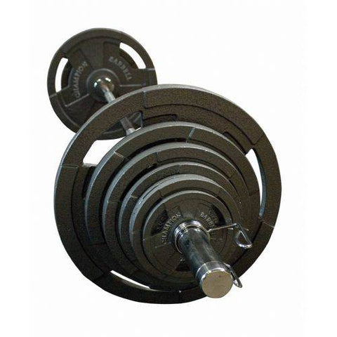 Champion Barbell Olympic 300 Lb. Economy Weight Set - Givhony