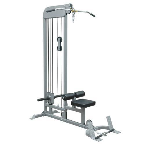 Champion Barbell®Plate-Loaded Lat Pulldown/Low Row Machine - Givhony