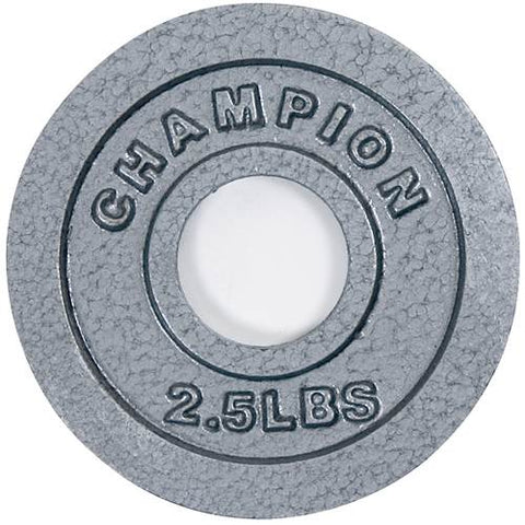 Champion Barbell Olympic Grip Plates 2.5 lb - Givhony