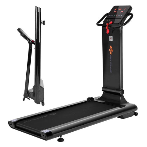 GoPlus 1.5 HP LED Folding Exercise Fitness Running Treadmill with USB MP3 - Givhony