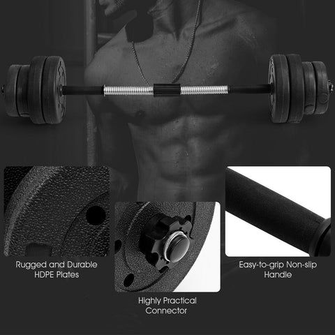 Image of 66 LBS 16 Adjustable Plates Fitness Dumbbell - Givhony