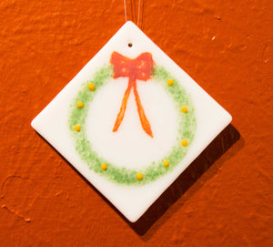 Handmade Wreath Ornament