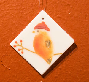 Handmade Bird Ornament