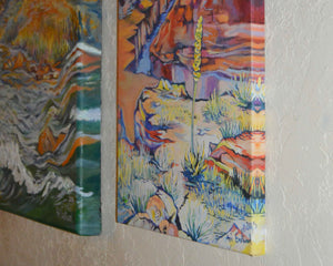 Limited Edition Gallery Wrap Reproduction, side view
