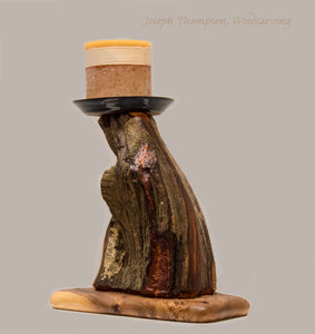 Juniper Decorative Candle (43)Joseph Thompson, Woodcarving