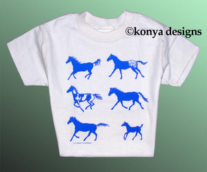 Kid's Horse T-Shirt, Konya Designs
