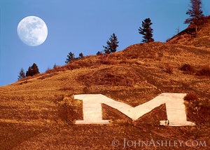 """Missoula's M""  John Ashley"