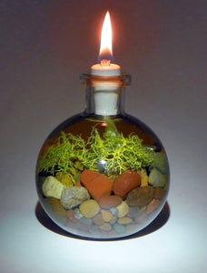 Pebble & Lichen Stone Candle