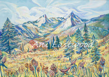 "Load image into Gallery viewer, ""Trapper's Peak, Montana"" 2014 Ani Eastwood"