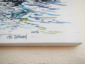 """On The Water"" 2015  Ani Eastwood"