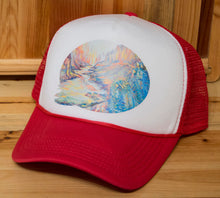 Load image into Gallery viewer, Grand Canyon Nankoweap Trucker Hat, Ani Eastwood