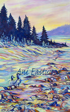 "Load image into Gallery viewer, ""Geese on the Blackfoot River"" 2016 Ani Eastwood"